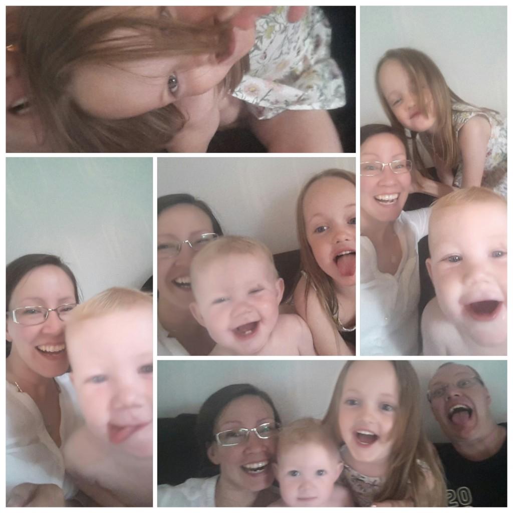 Jag bjuder på mina bästa bilder från juni. Tokgroupies på familjen tok.
