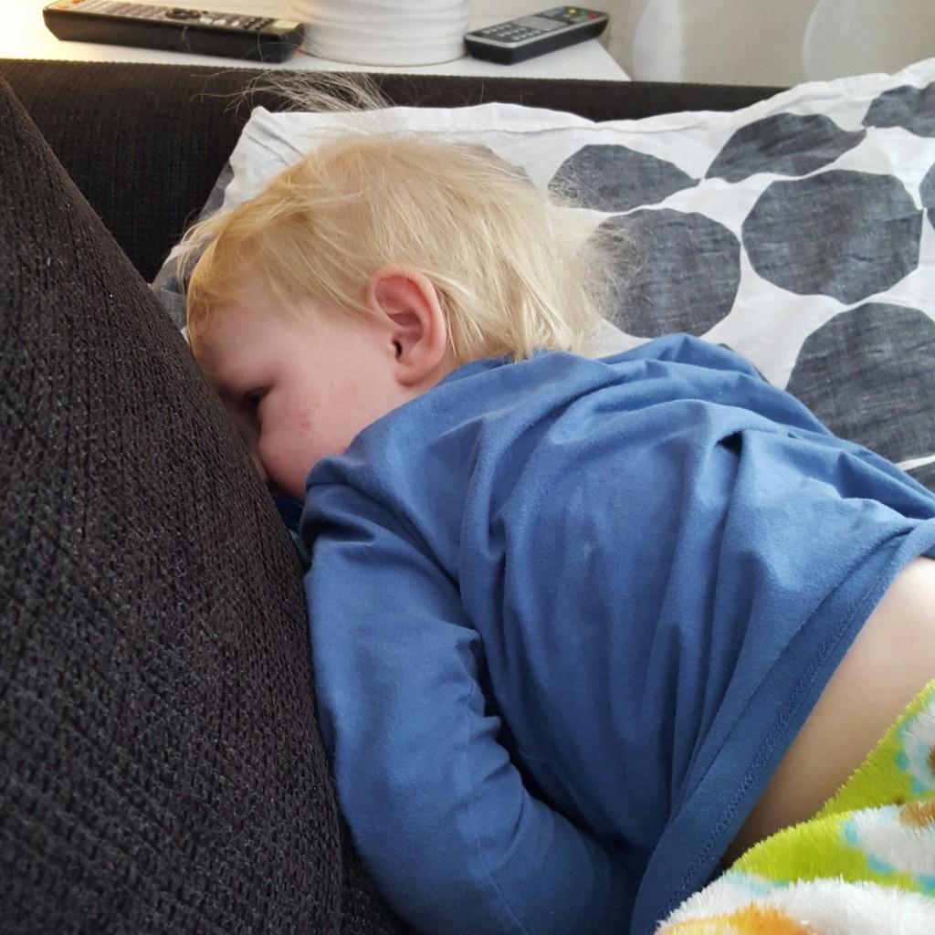 Nils i magsjuketrans.